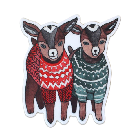 STICKER: Baby Goats