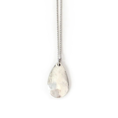 Greta Silver Necklace