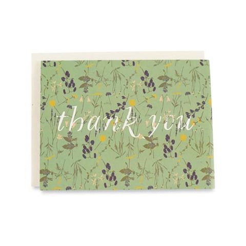 Wild Thank You Boxed Cards