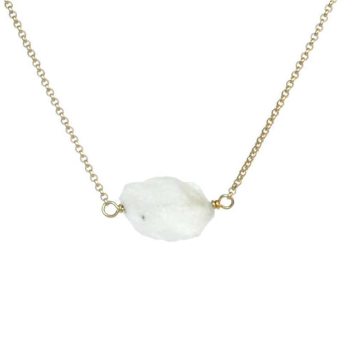 Zeeba Rainbow Moonstone necklace