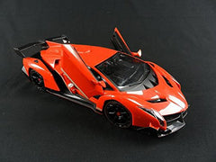 RC Lamborghini Veneno 1:18 Scale Roaster with Realistic Folding Suicide Doors