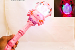 "15.5"" Majic Dancing Water Wand for Girls Music Light and Sound Kids ages 3+"