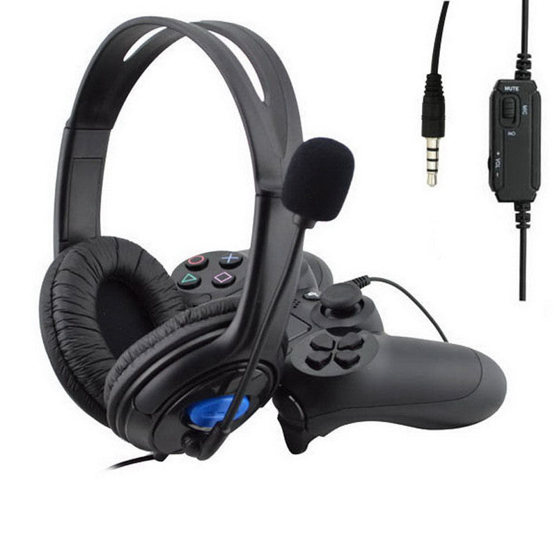 2016 New 3.5mm Headphone Game Gaming Headphones Headset With Mic ...