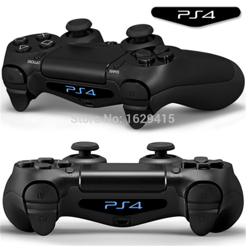 IVY QUEEN Custom 2 PCS Game Light Bar Vinyl Stickers Decal Led Lightbar Cover For Sony PS4 Playstation Dualshock 4 Controller