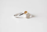 925 sterling silver cloud open adjustable ring Women's silver ring for gift