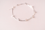 925 sterling silver fashion bracelet Women's silver fashion bracelet for gift