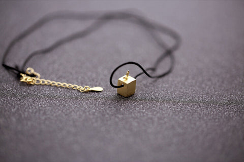 925 sterling silver TV Necklace, golden TV necklace,cute TV necklace