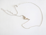 Paper plane necklace,Delicate personality Necklace Gift