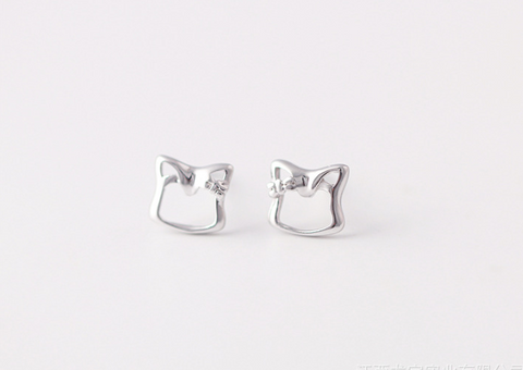 925 Sterling Silver Earrings     Cute fox Earrings