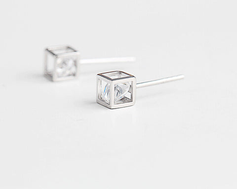 925 Sterling Silver Earrings, sweet love magic