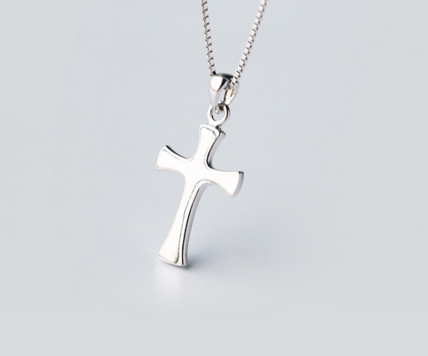 Personalized cross 925 sterling silver pendant, a perfect gift !