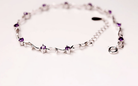 Han edition exquisite fashion (wisteria bracelet) the new 925 sterling silver jewelry