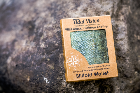 Billfold - Alaska Salmon Leather