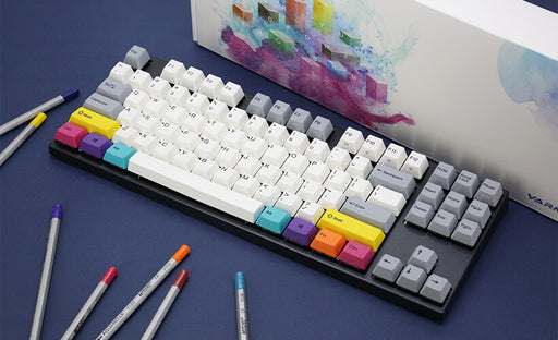 Varmilo CMYK TKL 75% Mechanical Keyboard