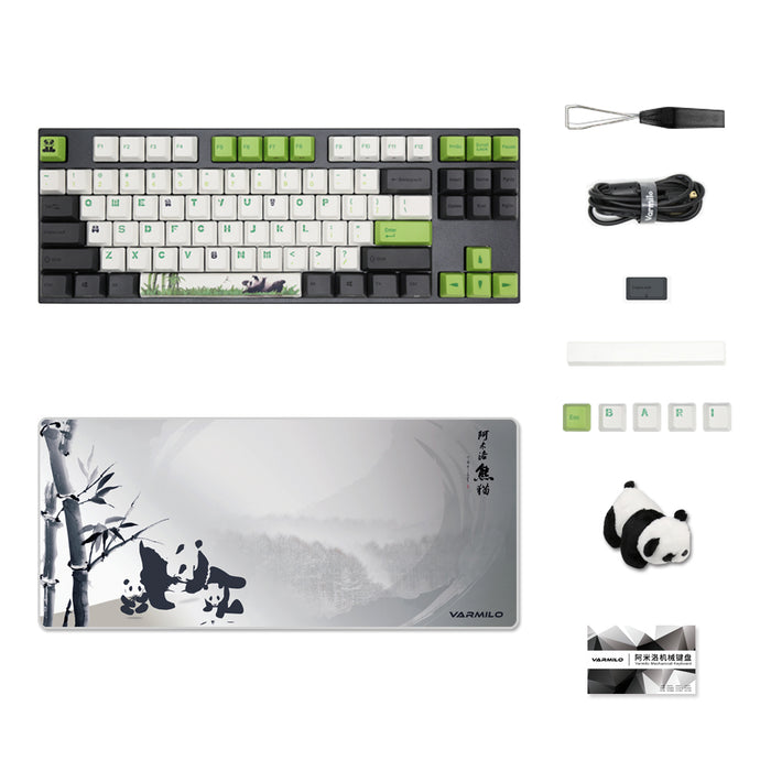 Varmilo Panda TKL 75% Mechanical Keyboard - Deskhero.ca
