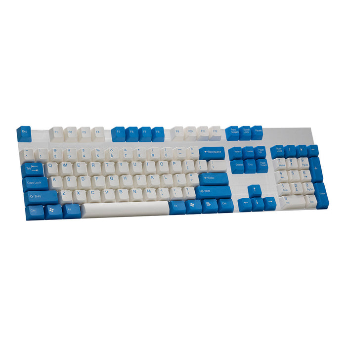 ABS White/Blue Keycap Set