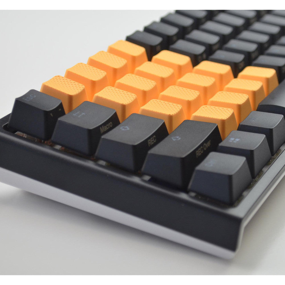 Rubber Keycap Set (18) - Neon Orange