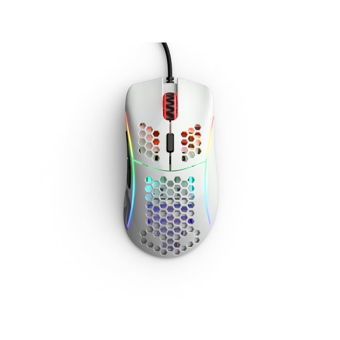 Glorious Model D Mouse (Glossy White) - Deskhero.ca