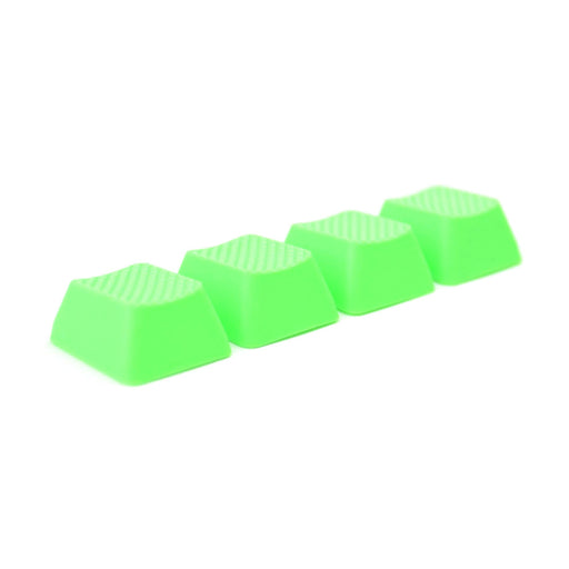 Rubber Gaming Keycaps blank - Neon Green