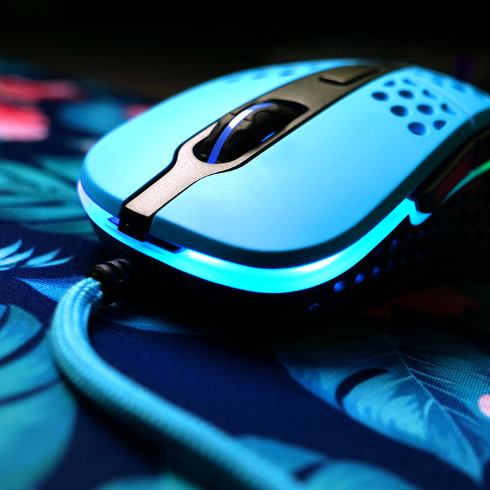 Xtrfy M4 Gaming Mouse (Blue) - Deskhero.ca