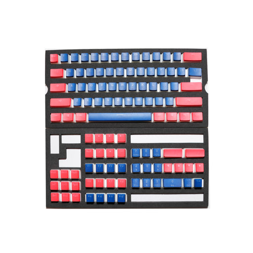 Ducky Pudding Blue Alpha PBT Keycap set