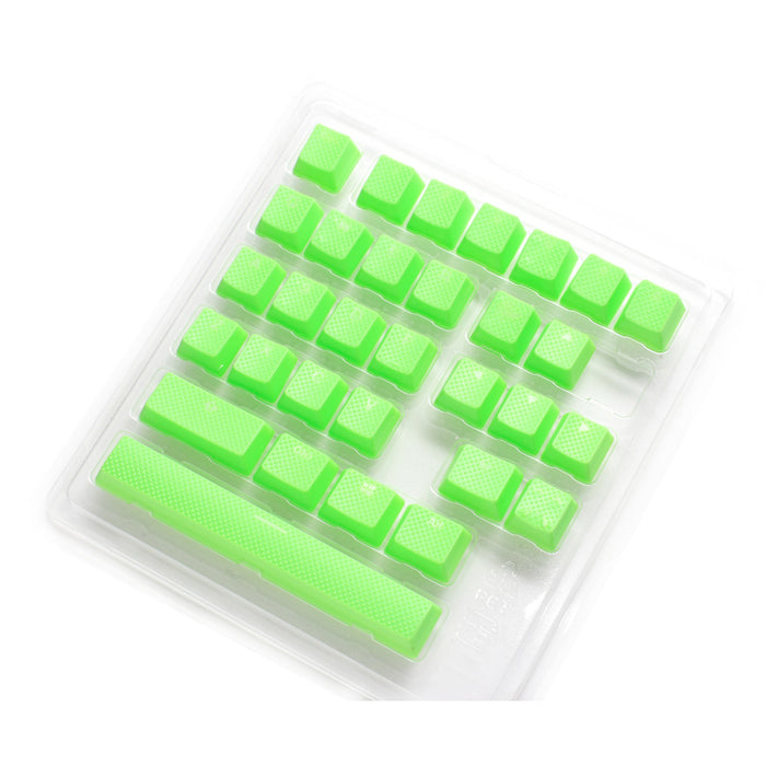 Ducky Rubber Gaming Keycap set - Green - 31pcs