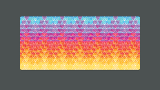 Deskmat - Crystal Series