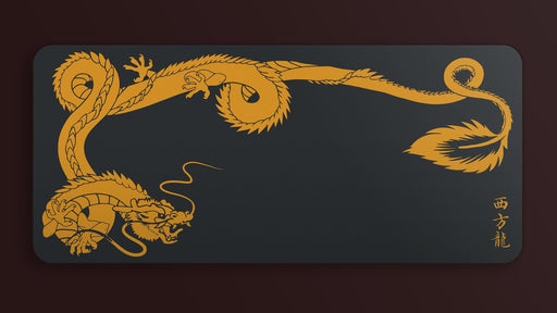 Deskmat - Red Dragon