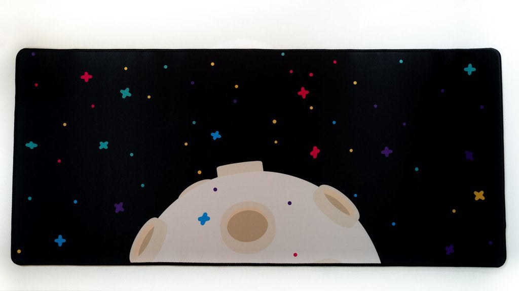 Deskmat - Space Cheese - Artist x TKC