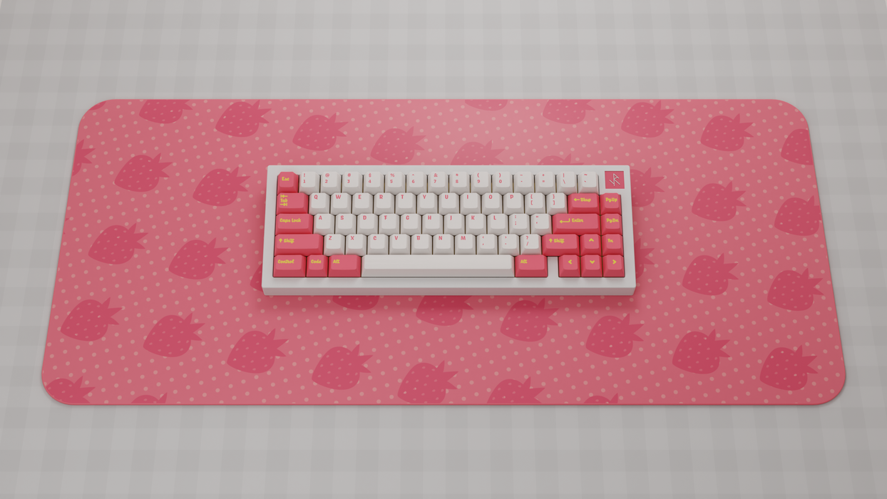 Deskmat - Infinikey Strawberry Lemonade