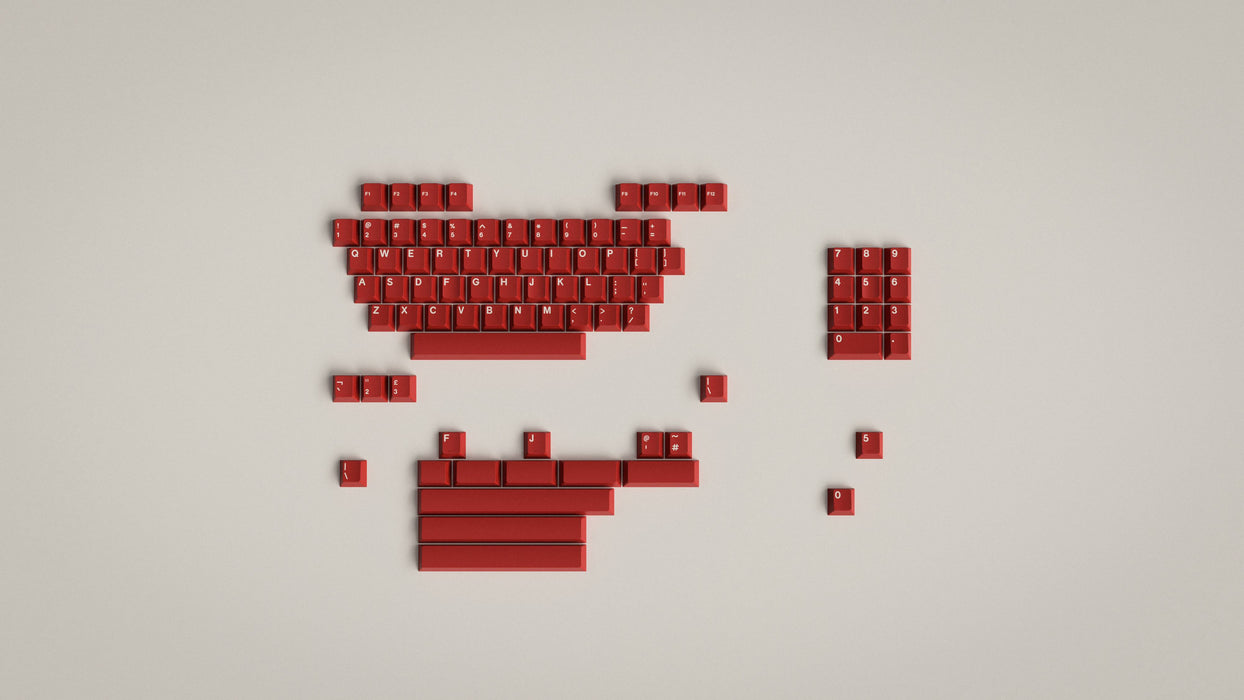 GMK Classic Red - Preorder