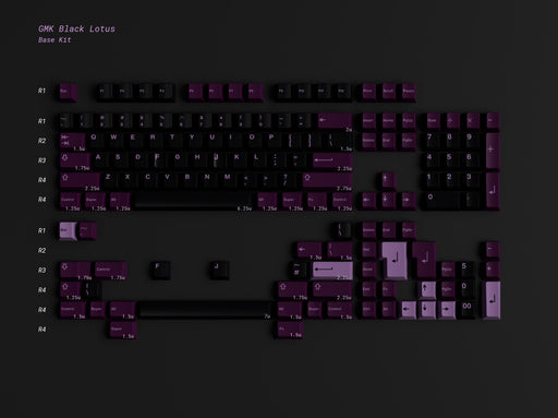 GMK Black Lotus - Preorder/Reservation