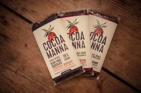Cocoa Manna Bean-to-bar 3 pack