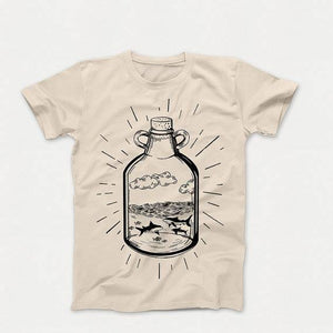 SHARK BOTTLE T-SHIRT