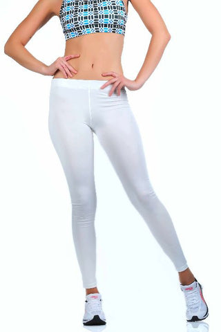 Zebo Leggings - White