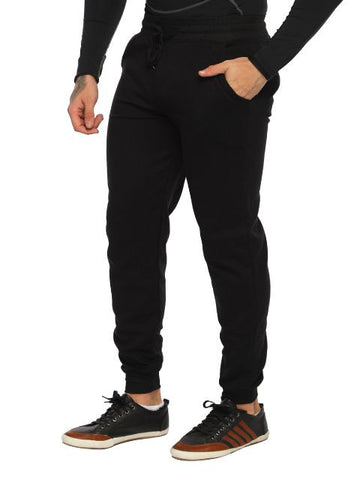 Slim-Fit Cotton Poly Blend Joggers