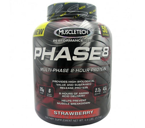 MuscleTech Phase 8 - Strawberry - 4.5Lbs