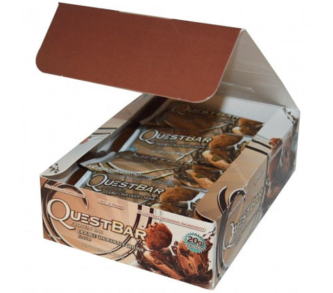 Quest Protein Bar - Double Chocolate Chunk - 12 Bars