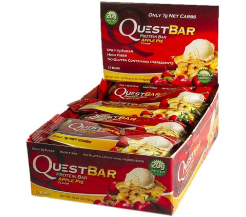 Quest Protein Bar Apple Pie - 12 Bars