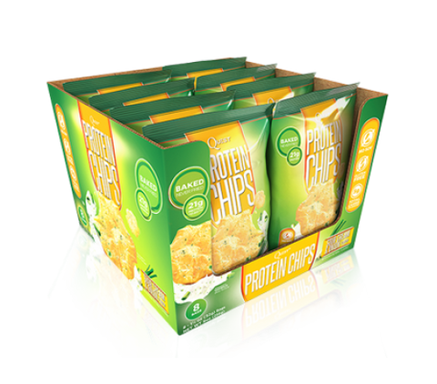 Quest Protein Chips - Sour Cream & Onion - Box of 8