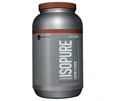 Nature's Best Zero Carb Isopure - Dutch Chocolate - 3 Lbs