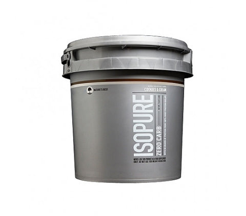 Nature's Best Zero Carb Isopure - Cookies & Cream - 7.5 Lbs