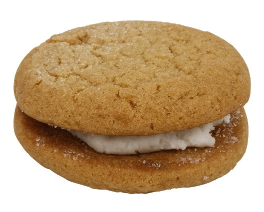 Sugar with Lemon Cookie Sandwich