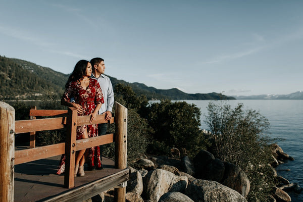 Sand Harbor Engagement