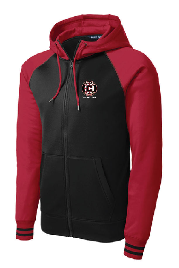 Bruins Varsity Fleece Full Zip Hooded Sweatshirt