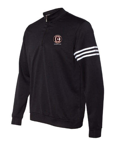 Adidas 1/4 Zip Pullover with Bruins logo