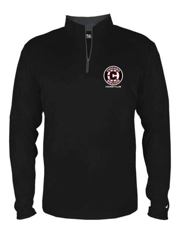 Bruins Youth 1/4 Zip Poly Performance Pullover