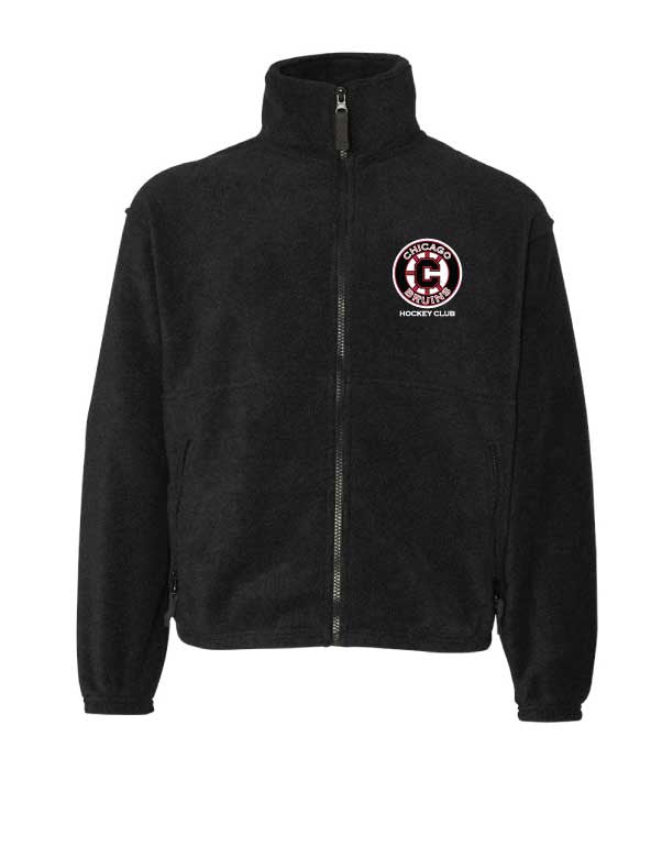 Bruins Youth Full Zip Fleece Jacket