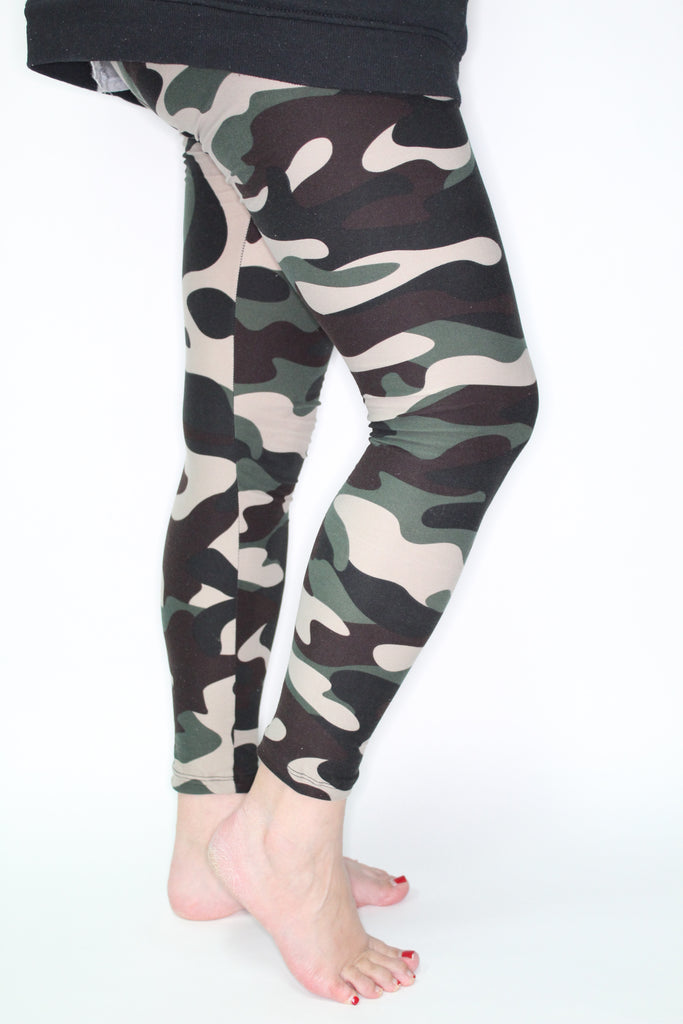 She's Got Camo - Yoga band curvy
