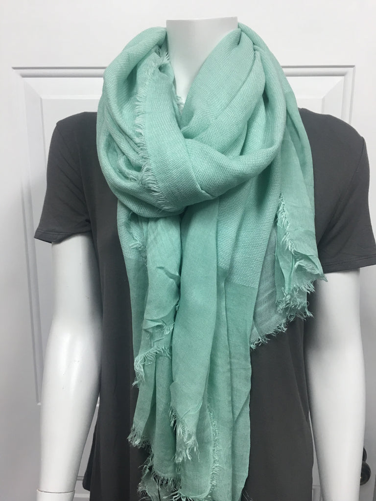 Minty Fresh Scarf - She's Got Leggz